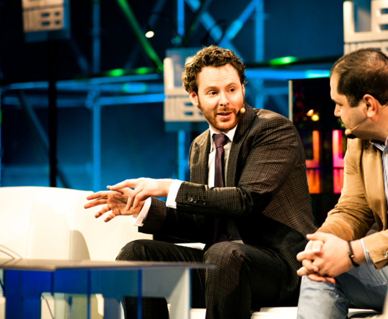 Sean Parker - source: flickr.com