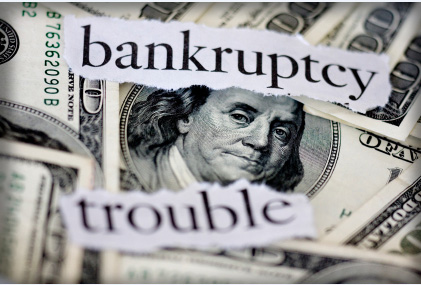 US dollar bankruptcy