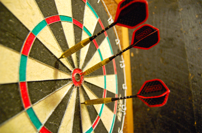 A more precise and accurate game-plan than the competition is required image source: commons.wikimedia.org