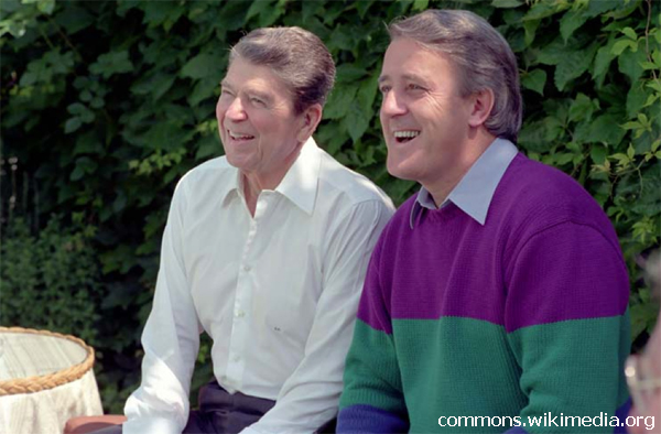 Reagan and Mulroney