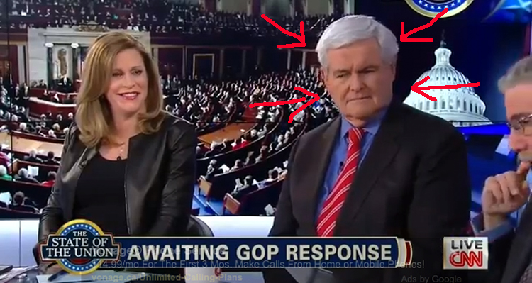 Gingrich reacts to Castellanos sex comment
