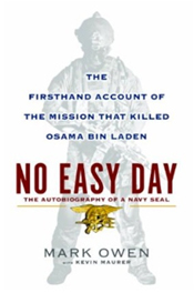 No Easy Day book cover