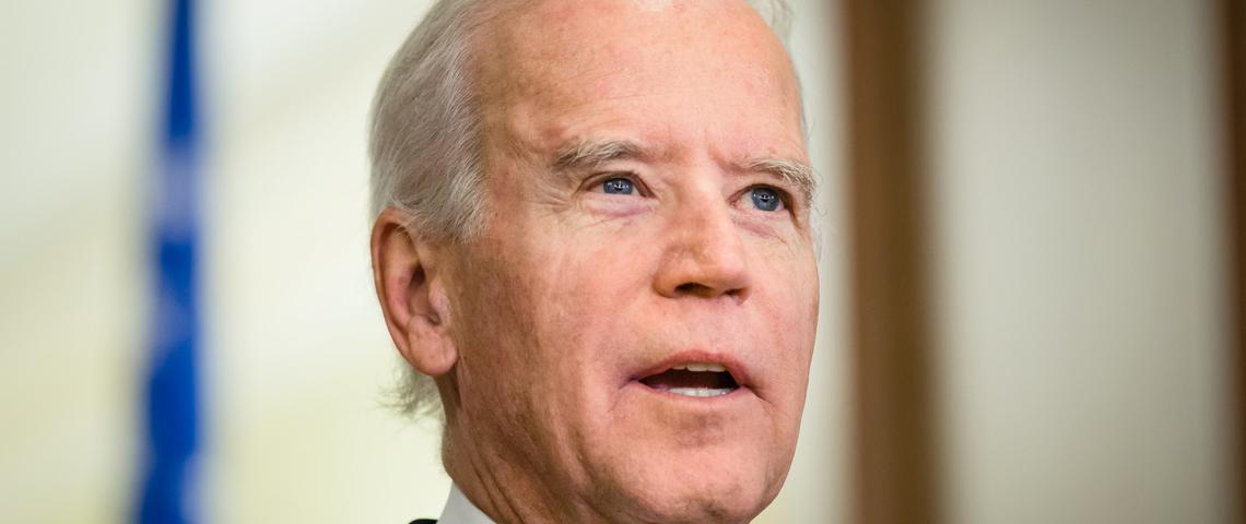Joe Biden on Stephen Colbert