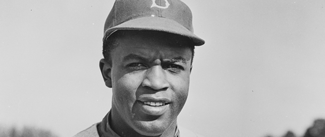 Motivational story about Jackie Robinson