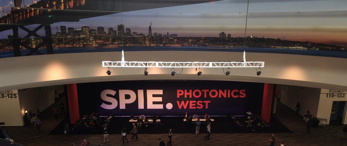 The SPIE Photonics West show