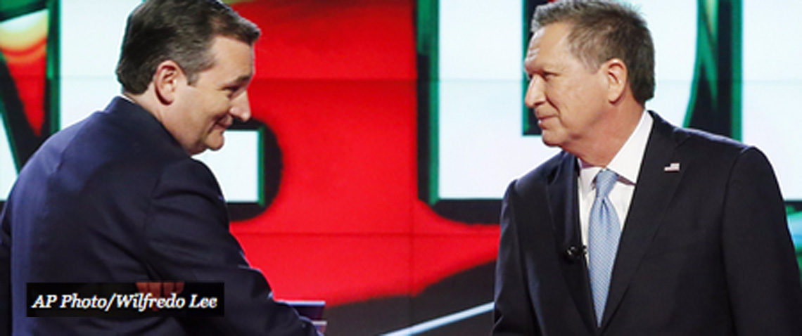 John Kasich and Ted Cruz alliance