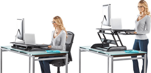 Varidesk demonstration