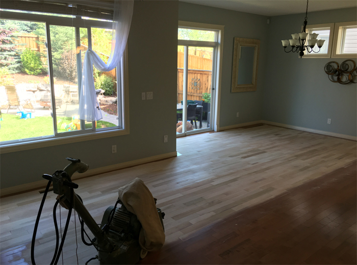how to finish hardwood floors
