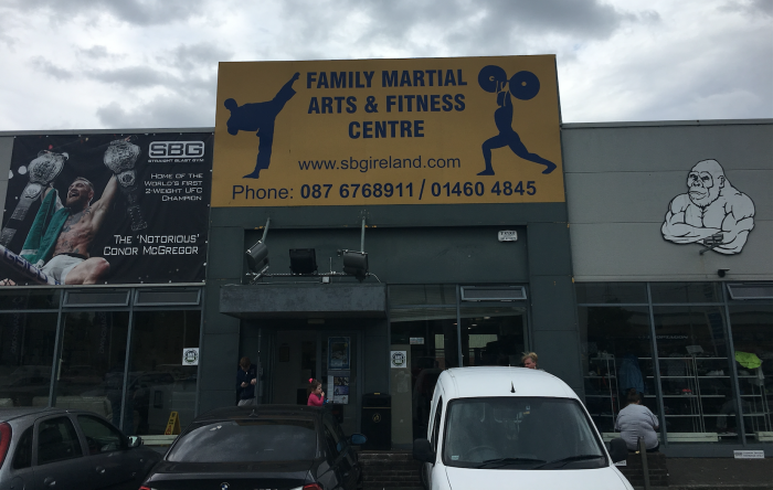 Straight Blast Gym - Conor McGregor's Training Facility in Dublin, Ireland