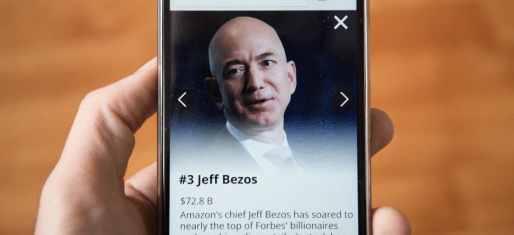 How Jeff Bezos disrupted retail shopping