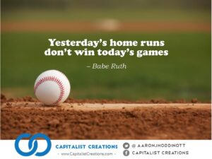 Babe Ruth quote on winning