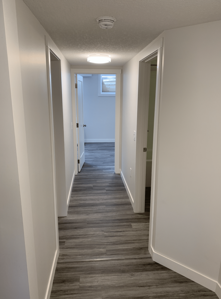 turning a basement into a rental suite