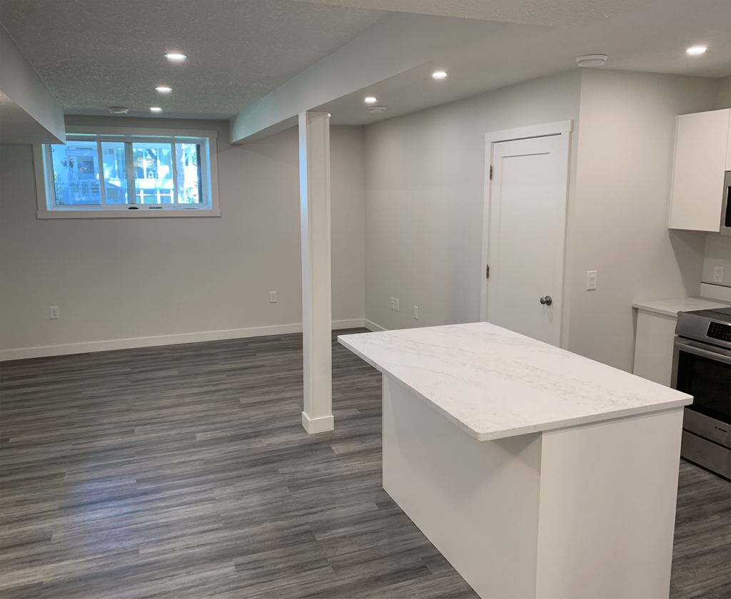 Turning a basement suite into a rental unit